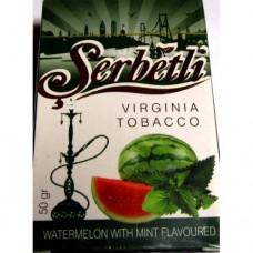 Табак для кальяна SERBETLI WATERMELON WITH MINT (АРБУЗ С МЯТОЙ)