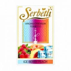 Табак для кальяна Serbetli ice berry peach