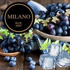Табак для кальяна Milano Blue Mist M28 (Черника, Виноград, Айс)