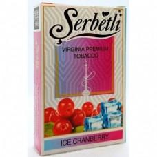 Табак для кальяна SERBETLI ICE CRANBERRY (ЛЕДЯНАЯ КЛЮКВА)
