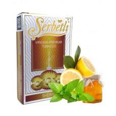 Табак для кальяна SERBETLI SHEIKH (МЁД ЛИМОН МЯТА)
