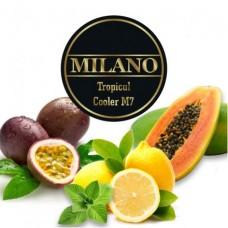 Табак для кальяна Milano Tropical Cooller M7 (Маракуя, Лимон, Папая, Мята)