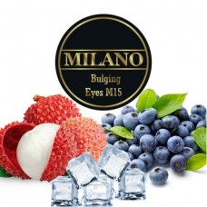 Табак для кальяна Milano Bulging eyes M15 (Черника, Личи, Лёд)