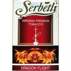 Табак для кальяна SERBETLI DRAGON FLIGHT (ЧЕРНИКА, МЕНТОЛ, МАРАКУЯ)