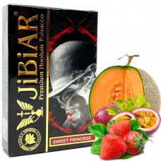Табак для кальяна Jibiar 50 gr Sweet princess (Дыня, клубника, маракуйя)