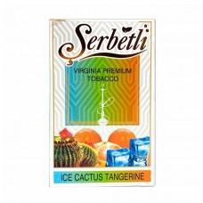 Табак для кальяна SERBETLI Ice cactus tangerine (Кактус с мандаринов Айс)