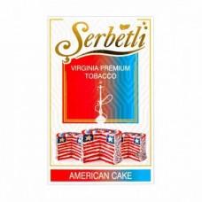 Табак для кальяна SERBETLI AMERICAN CAKE (СЛАДКИЙ ПОПКОРН)