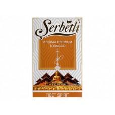 Табак для кальяна SERBETLI TIBET SPIRIT (СЛАДКАЯ
