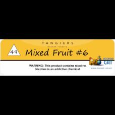 Табак для кальяна TANGIERS 250г (Высокая крепость) NOIR Mixed Fruit