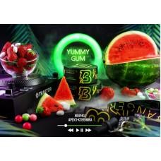 Табак для кальяна BANGER 100GR Yummy Gum (Жвачка арбуз-клубника)