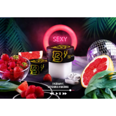 Табак для кальяна BANGER 100GR Sexy (Грейпфрут, клубника и малина)