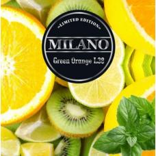 Табак для кальяна Milano L38 Green Orange (апельсин киви мята)