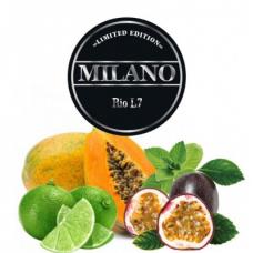 Табак для кальяна Milano L7 Rio (маракуйя мята папайя лимон)