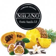 Табак для кальяна Milano L9 Exotic Vanilla (ананас маракуйя папайя ваниль)