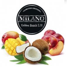 Табак для кальяна Milano L14 Golden Beach (манго персик кокос)