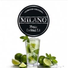 Табак для кальяна Milano L1 Mojito Coctail (лайм лед мята)