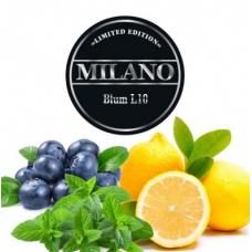 Табак для кальяна Milano L10 Blum (черника ментол лимон)