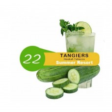 Табак для кальяна TANGIERS 250gr NOIR Summer Resort (Огуречный лимонад)