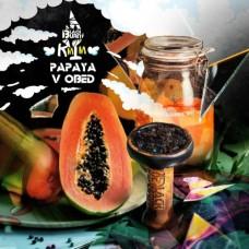 Табак Black Burn Papaya V Obed (Яркая папая) 100gr