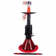 Кальян Amy Deluxe Rocket 067.01 PSMBK-RD 67 см.