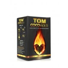 Уголь для кальяна Tom Coco Gold 72 уголька 25мм