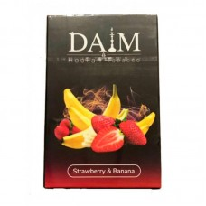 Табак для кальяна Daim Strawberry Banana (Банан клубника) 50g