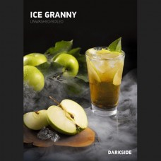 Табак для кальяна Dark Side 250gr Ice Granny (Айс зеленое яблоко)