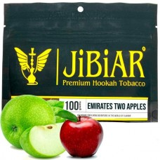 Табак для кальяна Jibiar Emirates Two Apples (Двойное яблоко)
