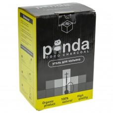 Уголь для кальяна Панда (Panda) черная
